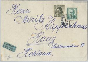 62477 -  Czechoslovakia - POSTAL HISTORY -  AIRMAIL COVER to HOLLAND 1946