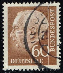 Germany #758 Theodor Heuss; Used (0.45)