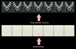 US 3758B American Design Navajo Jewelry 2c PNC7 back number MNH 2011