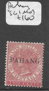 MALAYA PAHANG (P0501B) QV 2C  SG1   MOG