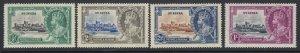 St. Lucia, Scott 91-94 (SG 109-112), MLH