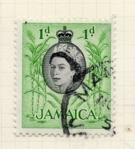 Jamaica 1956 Early Issue Fine Used 1d. 283889