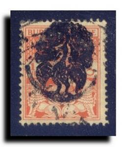 Burma-Occupation Scott 1N1