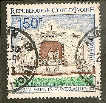 Ivory Coast       Scott 928     Monument      Used