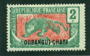 Ubangi-Shari 1922 #24 MH SCV (2018) = $0.70