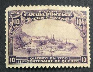 MOMEN: CANADA SC #101 1908 MINT OG NH LOT #61020