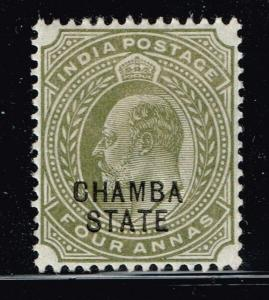 Chamba SG# 35, Mint Hinged, Hinge Remnant    Lot 083114