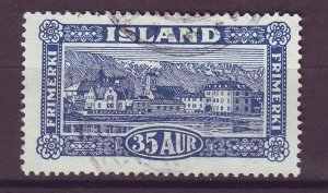 J25457 JLstamps 1925 iceland used #147 view