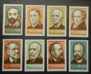 Portugal 983-90. 1966 Portuguese Scientists