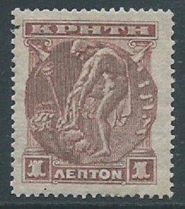 Crete, Sc #50, 1 l, MH