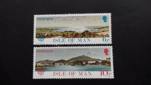 Isle of Man 1977 EUROPA Stamps - Landscapes Mint