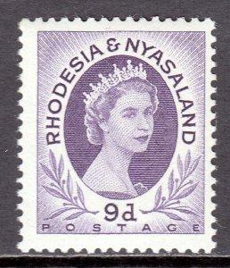 Rhodesia and Nyasaland - Scott #148 - MLH - SCV $2.75
