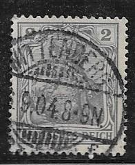 Germany Sc.65c /Mi. 68 Used L26