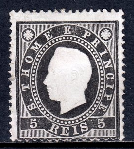 St. Thomas and Prince Islands - Scott #15 - MNG - SCV $3.75