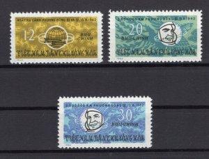 Vietnam 1963 MNH Stamps Scott 258-260 Space Flights Astronauts