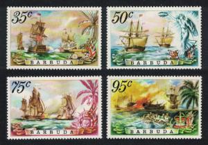 Barbuda Sea Battles 4v SG#223-226