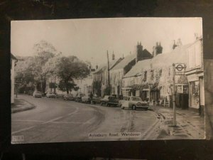 1968 England RPPC Postcard Postage Due Cover To Quebec Canada Aylesbury Road