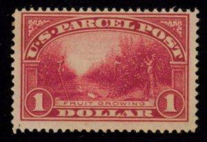 MALACK Q12 F/VF OG NH,  fresh $1 Parcel Post, NH, Ca..MORE.. n4402