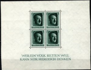 Germany #B102  F-VF Unused CV $18.00  (X7050L)