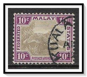 Malaya, Federation #31a Tiger Used