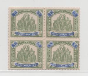 Malaya Federated Malay States - 1922 - SG 80 - MNH