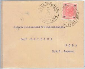 65679 - AUSTRIA -  POSTAL HISTORY - COVER from  Szigetvár 1902