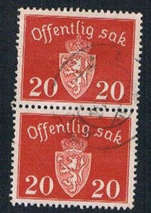 Norway COA 20 pair - pickastamp (AP100707)