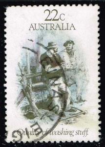 Australia #782 Gold Rush Era Sketches; Used (0.30)