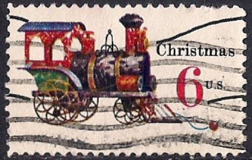 1415 6 Cent Christmas Toys Stamp Used F VF HipStamp