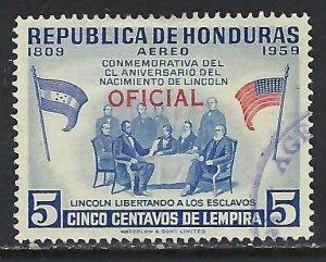 Honduras CO101 VFU Z3548-3