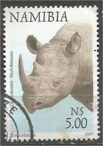 NAMIBIA, 1997, used $5.00 Fauna and Flora, Scott 869