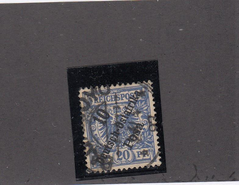 GERMAN EAST AFRICA # 9 WITH SUPERB SON TOWN COLLECTED FOR PMKS