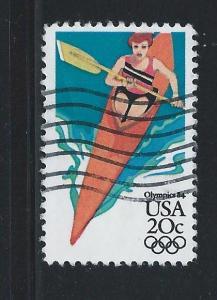 #2085 Used Single 1984 Olympics