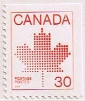 Canada Mint VF-NH #945 Mapel Leaf Definitive 30c