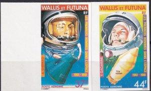 Wallis & Futuna Islands #C106-7  MNH Imperf  (Z9201)