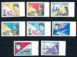 [42700] Yemen 1965 Space Travel Kennedy Imperforated MNH