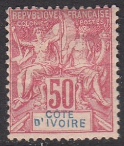 Ivory Coast 14 MH CV $75.00