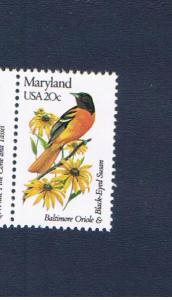 #1972 MVFNH OG State Bird & Flower Free S/H