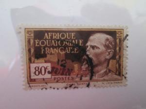 French Equatorial Africa #54 used