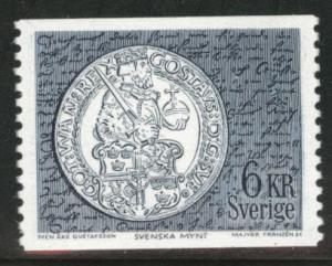 SWEDEN Scott 755A MH* 6Kr 1970 coil