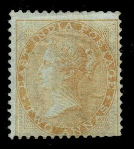 INDIA 1855 qv  2as, no wm- sg no 43 very fine lmm cv  1200 gbp +