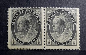 Queen Victoria Numerical Issue - Double Stamp