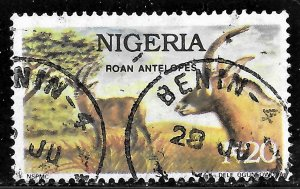 Nigeria N20 Roan Antelopes issue of 1993, Scott 615D Used