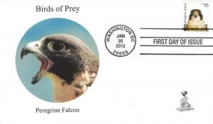Birds of Prey First Day Cover, w/ 4-bar cancel,  #5 of 6