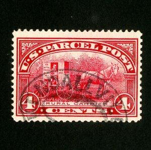 US Stamps # Q4 Jumbo Used Gem