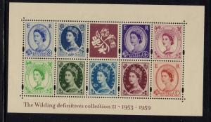Great Britain Sc 2125 2003 Wilding Definitive stamp sheet mint NH