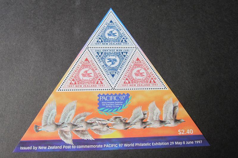 New Zealand S/S 1997 Pacific 97 stamp show MNH