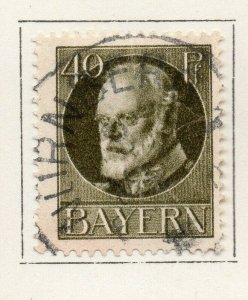 Bayern Bavaria 1914-18 Early Issue Fine Used 40pf. NW-120705
