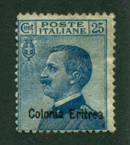 Eritrea 1909 #40 MH SCV (2020)=$5.00