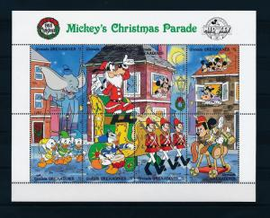[22608] Grenada Grenadines 1988 Disney Mickey Donald Christmas Parade MNH